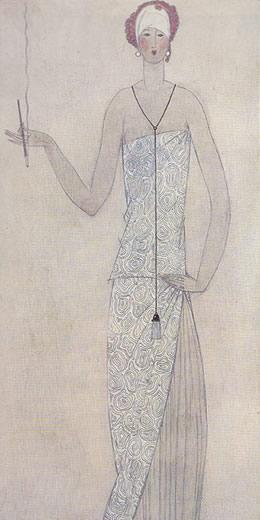 アールデコ期の女性