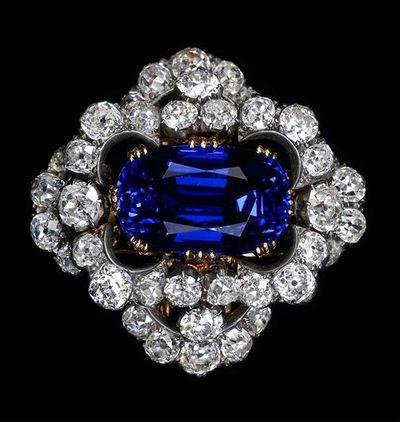 19世紀ビルマ産サファイヤ