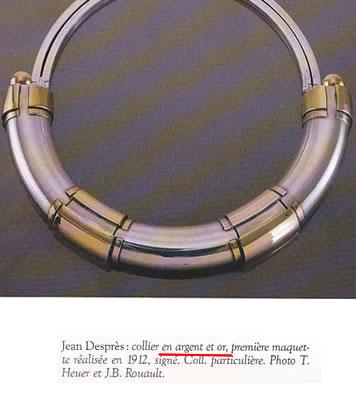 銀とゴールドのネックレス