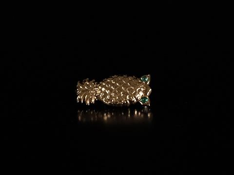 カルティエ(Cartier)パイナップルブローチ(1960年代)